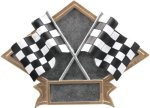 Racing - Diamond Plate Resin Trophy All Trophy Awards