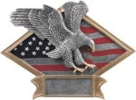 Eagle - Diamond Plate Resin Trophy All Trophy Awards