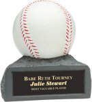 Baseball - Colored Resin Trophy Colored Resin Trophies