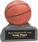 Basketball - Colored Resin Trophy Colored Resin Trophies