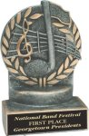 Music - Wreath Resin Trophy Wreath Awards