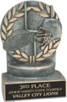Football - Wreath Resin Trophy Wreath Awards